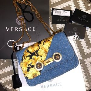 Authentic Never Worn Versace Purse